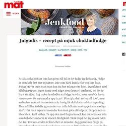 » Recept på mjuk fudge med choklad – Jenkfood