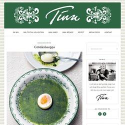 Recept Grönkålssoppa - Tina Nordström - Mat-Tina