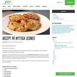 Recept på nyttiga scones
