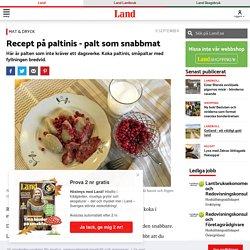 Recept på paltinis - palt som snabbmat