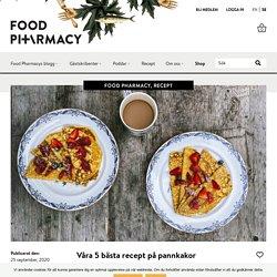 Våra 5 bästa recept på pannkakor – Food Pharmacy