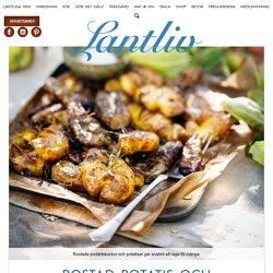 Recept: Rostad potatis och jordärtskockor
