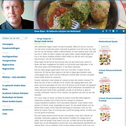 Recept steak tartare - Onno Kleyn