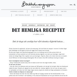 Det hemliga receptet - Bockholmengruppen