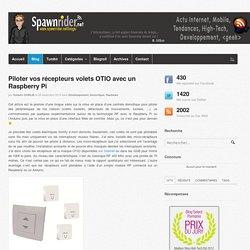 Piloter vos récepteurs volets OTIO avec un Raspberry Pi