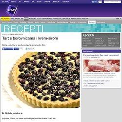 Recepti - Deserti - Tart s borovnicama i krem-sirom