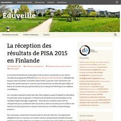 La réception des résultats de PISA 2015 en Finlande