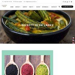 Recepty ze Srí Lanky - Cocohut Tours PVT Ltd