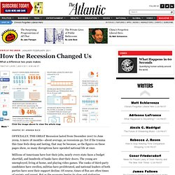 How the Recession Changed Us - Magazine