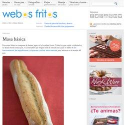 Receta básica de pan