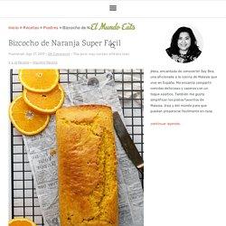 Receta de Bizcocho de Naranja Super Fácil