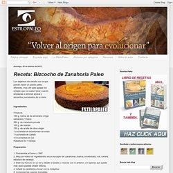 Estilo Paleo - Todo sobre la Vida y la Dieta Paleo: Receta: Bizcocho de Zanahoria Paleo