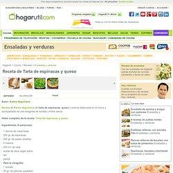 Receta de Tarta de espinacas y queso