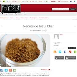 Receta de fulful bhar