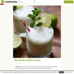 Receta de mojito de coco - Unareceta.com