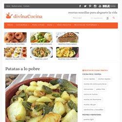 Receta de Patatas a lo Pobre (receta tradicional) - Divina Cocina