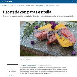 Recetario con papas nativas de Areandina - Gastronomía - Cultura