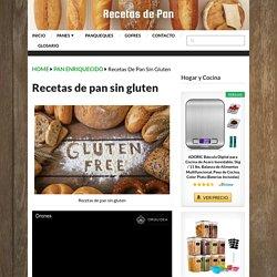 ▷ Recetas de Pan sin Gluten - Recetas de Pan