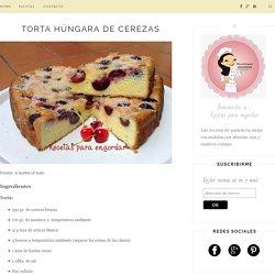 Recetas para engordar...: Torta húngara de cerezas
