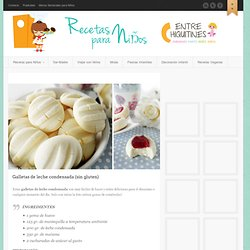 Galletas de leche condensada (sin gluten)