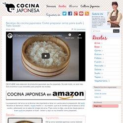 Recetas de cocina japonesa: Como preparar arroz para sushi