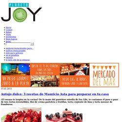 Antojo dulce: 3 recetas de Mauricio Asta para preparar en tu casa - Planeta JOY