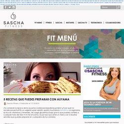 5 recetas que puedes preparar con auyama - Sascha Fitness