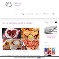 Recetas románticas para San Valentín - La mansión de las ideas
