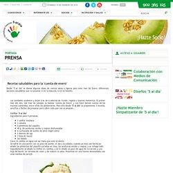 Recetas saludables para la `cuesta de enero`