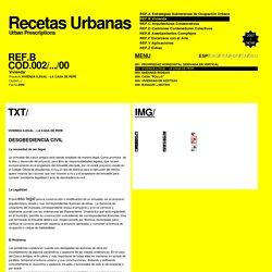 RECETAS URBANAS