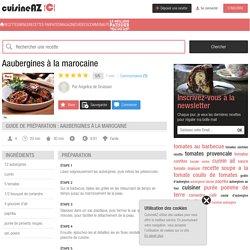 Recette Aaubergines à la marocaine (facile, rapide)