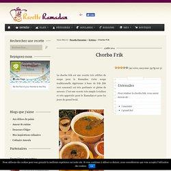 Recette Chorba Frik, Soupe algérienne