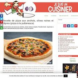 Pizza à la puttanesca