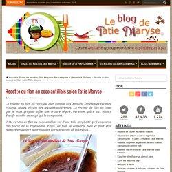 Recette du flan au coco antillais selon Tatie Maryse