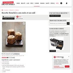 Recette de Bouchées aux noix et au café