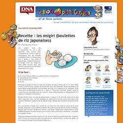 Recette : les onigiri (boulettes de riz japonaises) - Petits curieux - Blogs DNA