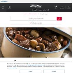 Le bœuf bourguignon de Bernard Loiseau - une recette Terroir