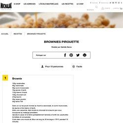 Brownies Pirouette