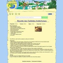 Recette des Caillettes Ardéchoises
