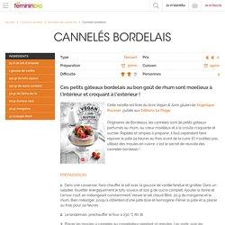 Recette Cannelés bordelais