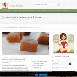Recette caramels mous au beurre salé facile