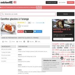 Recette Carottes glacées à l'orange (facile, rapide)