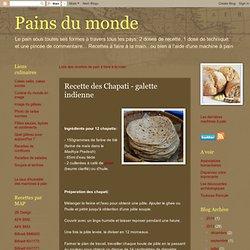 Recette des Chapati