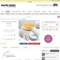 Recette Cheesecake crème brûlée