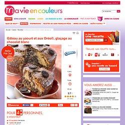 Recette de Gâteau au yaourt et aux Oréo®, glaçage au chocolat blanc
