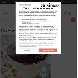 Recette Mug cake au chocolat de Cyril Lignac