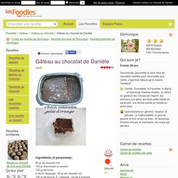 Gâteau au chocolat de Danièle