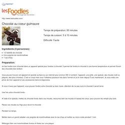 Recette de Chocolat au coeur guimauve