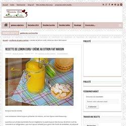 recette de lemon curd/ crème au citron fait maison