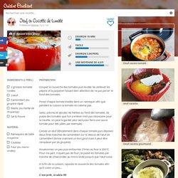 Recette Oeuf en Cocotte de tomate pas chère et simple > Cuisine Étudiant